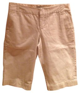 Club Monaco Bermuda Shorts Tan