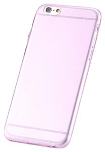 """Other Baby Pink IPhone 6 / 6s Plus 5.5"""" TPU Rubber Gel Ultra Thin Case Cover"""