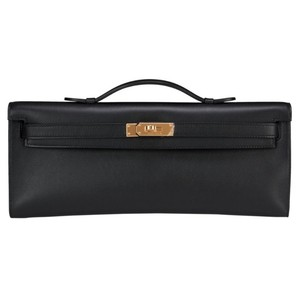 Hermès Black Clutch