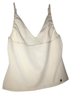 Hervé Leger Sleeveless Top Egg shell white