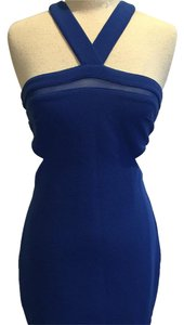 Wow Couture short dress Blue on Tradesy