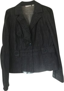 Halogen blue denim Blazer