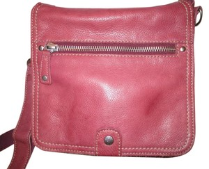 Fossil Leather Organizer Convertable Cross Body Bag