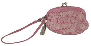 Coach Wristlet in multi-color