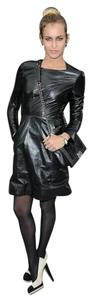 Chanel Leather Runway Dress