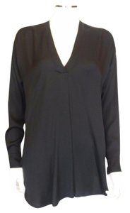 Vince Silk Top Black