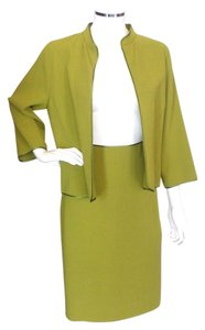 Sylvia Heisel Sylvia Heisel Green 2pc Skirt Suit Nwt