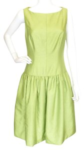 A.B.S. by Allen Schwartz Evening Green Skirt Abs Dress