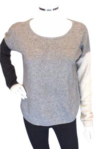 Autumn Cashmere Gray 100 Cashmere Sweater