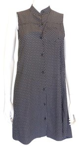 Rag & Bone short dress Black,White Polka Dot on Tradesy