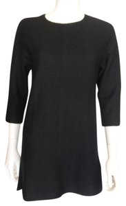 St. John short dress Black Santana Knit Nwt on Tradesy