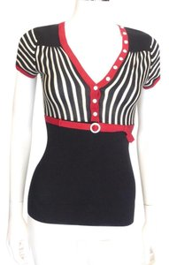 Nanette Lepore Striped Sweater