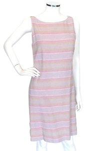 Chanel short dress Multi-Color Pastel Color Striped on Tradesy