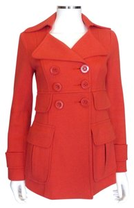Nanette Lepore Seaside Nwt Orange Jacket