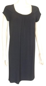 Vince short dress Navy Wruched on Tradesy
