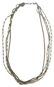 Lucky Brand NWT Lucky Brand Silver and Gold Chain Necklace