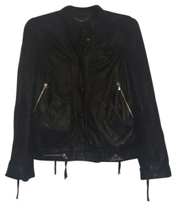 Marc by Marc Jacobs Leather Motorcycle Moto Leather Jacket
