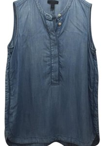 J.Crew Top Light Chambray Denim