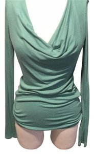 BCBGMAXAZRIA Top sea foam green