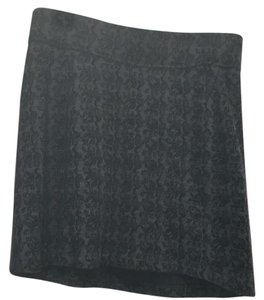 Ibex Mini Skirt Black and gray
