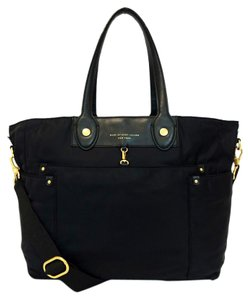 Marc by Marc Jacobs Nylon Eliz-a-baby Preppy Black Diaper Bag