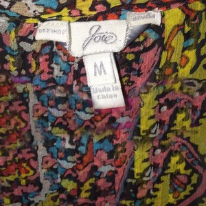 Joie Top Multicolored