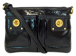Marc by Marc Jacobs Shine Percy Leather Snake Embossed Cross Body Bag