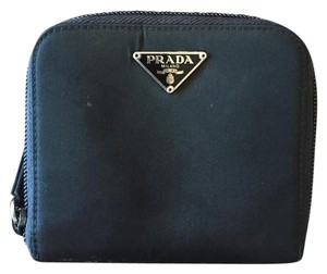 Prada Authentic Prada wallet Tessuto color black/nero