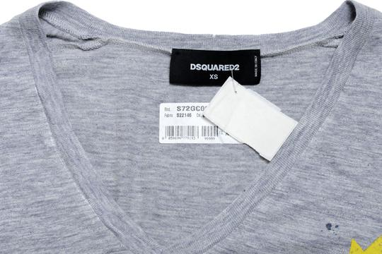 60%OFF Dsquared2 Gray Kj-4848 Top - 88% Off Retail