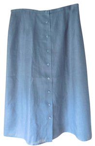 Talbots Linen Lined New With Tags Skirt Black