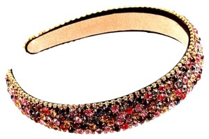 Gem Stone Colored Crystal Headband