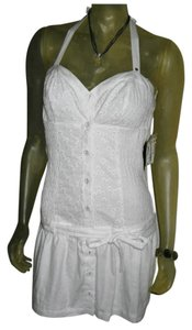 WHITE Maxi Dress by Guess By Marciano Embroider