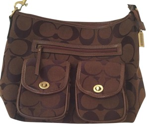 Coach Cowhide Large One Handle Shoulder Bag