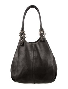 Prada Leather 100% Tote in Black
