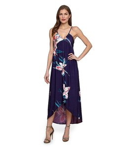 Blue / Floral Maxi Dress by Catherine Malandrino