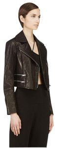 Rag & Bone Biker Leather Crocodile Fall Moto Motorcycle Jacket