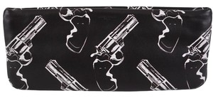 Saint Laurent Ysl Ysl Ysl Black Clutch