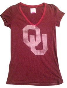 Victoria's Secret Boomersooner Ou V-neck T Shirt