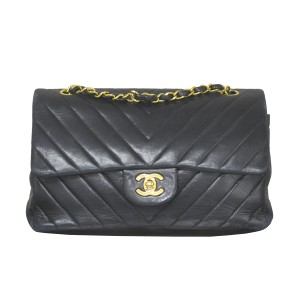 Chanel Vintage Double Flap Handbag Shoulder Bag