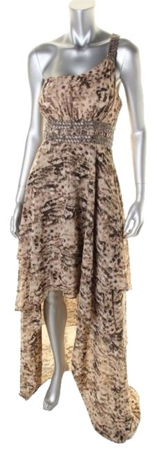 Guess Karina Hi-low High Low Prom Wedding Evening Gown Gown One Nwt 10 Dress