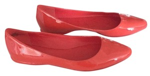 Nine West Red/orange Flats
