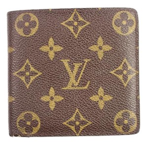 Louis Vuitton Monogram Men's Wallet 28LVA912