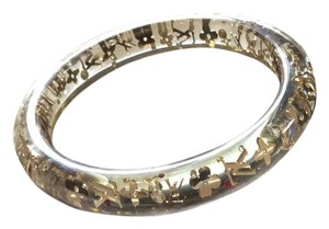 Louis Vuitton Louis Vuitton Inclusion bangle with red, yellow & clear crystals