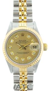 Rolex LADIES ROLEX DATEJUST 2-TONE WITH ROLEX BOX & APPRAISAL