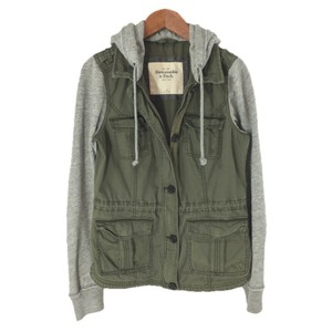 Abercrombie & Fitch Military Longsleeve Military Jacket