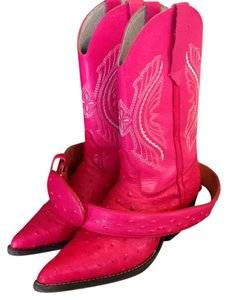 Other Ostrich Us Size 9 Pink Boots