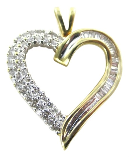 Preload https://item5.tradesy.com/images/gold-14k-solid-yellow-pendant-heart-51-diamonds-love-engagement-valentines-her-charm-1947614-0-0.jpg?width=440&height=440
