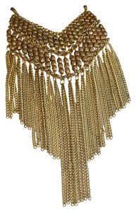 Anthropologie Waterfall Fringe Multi Color Necklace