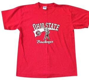 Other Pet And Smoke Free Ohio State U. Buckeyes Brutus T Shirt Red