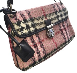 Burberry London Burberryvintage Burberry Pinkburberry Novachecktweed Shoulder Bag